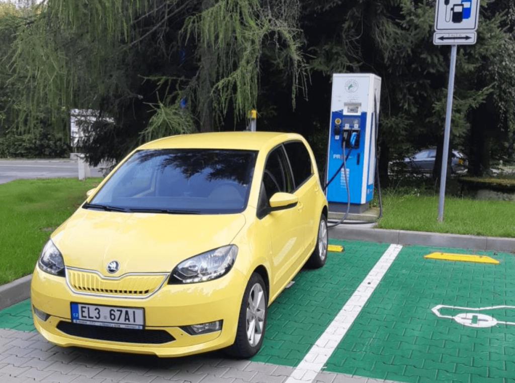 Elektromobil Škoda CITIGO